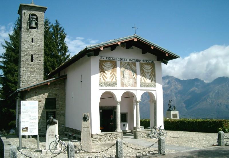 Die Kapelle der Madonna del Ghisallo